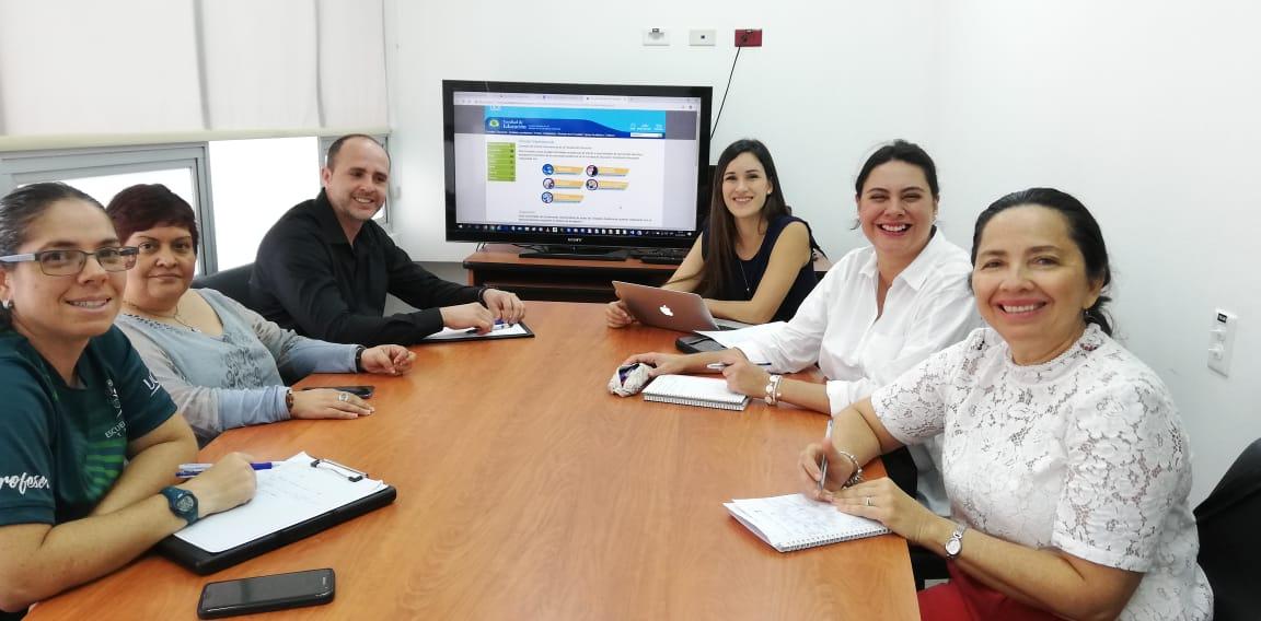 Comisión Vínculo Internacional, 2018 (Fotografía Karol Ríos Cortés).